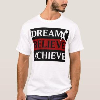 El sueño cree alcanza la camiseta del