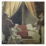 El sueño de Constantina, de la leyenda del T Azulejo Cuadrado Grande