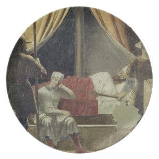 El sueño de Constantina, de la leyenda del T Plato Para Fiesta