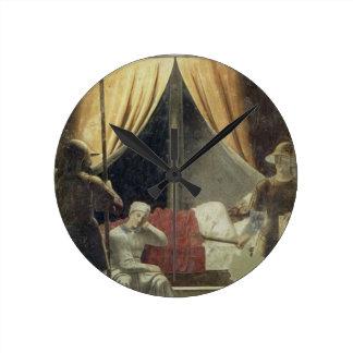 El sueño de Constantina de la leyenda del T Reloj De Pared