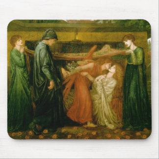 El sueño de Dante a la hora de la muerte de Beatri Tapete De Ratón