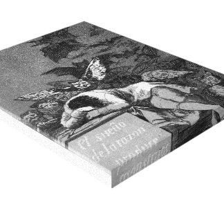 El sueño de Francisco Goya- de la razón produce a  Impresiones En Lona