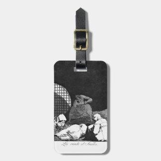 El sueño de Francisco Goya- los supera Etiquetas De Equipaje