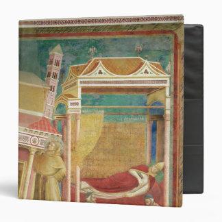 """El sueño de Inocencio III, 1297-99 Carpeta 1 1/2"""""""