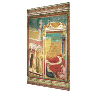 El sueño de Inocencio III, 1297-99 Impresión En Lienzo