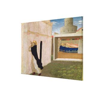 El sueño de Inocencio III Impresión En Lienzo