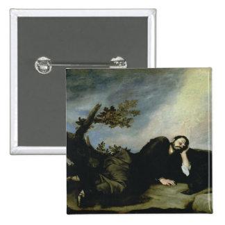 El sueño de Jacob, 1639 Pin Cuadrado