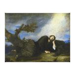 El sueño de Jacob de José de Ribera Impresiones En Lona