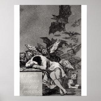 El sueño de la razón produce a monstruos póster