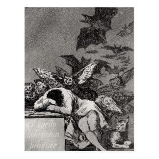 El sueño de la razón produce a monstruos tarjetas postales