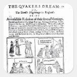 El sueño de los Quakers Colcomanias Cuadradass