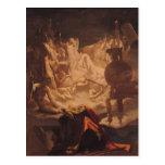 El sueño de Ossian, 1813 Tarjeta Postal