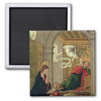 El sueño de San José, c.1535 Imán Cuadrado