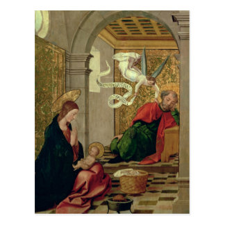 El sueño de San José, c.1535 Tarjeta Postal