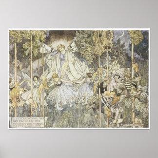 El sueño de una noche de verano, 1907 posters