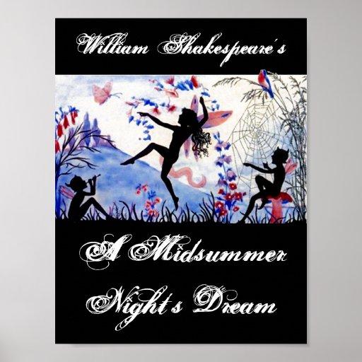 El sueño de una noche de verano William Shakespear Impresiones