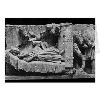 El sueño de unos de los reyes magos, de la catedra tarjeta de felicitación