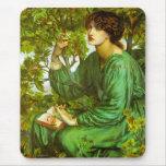 El sueño del día de Dante Gabriel Rossetti Alfombrilla De Ratón
