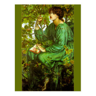 El sueño del día de Dante Gabriel Rossetti Postales