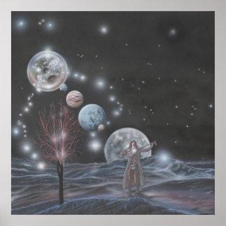 El sueño del juglar mágico póster
