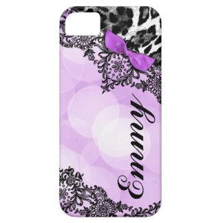 El sueño del leopardo de 311 lilas en luces ata el iPhone 5 funda