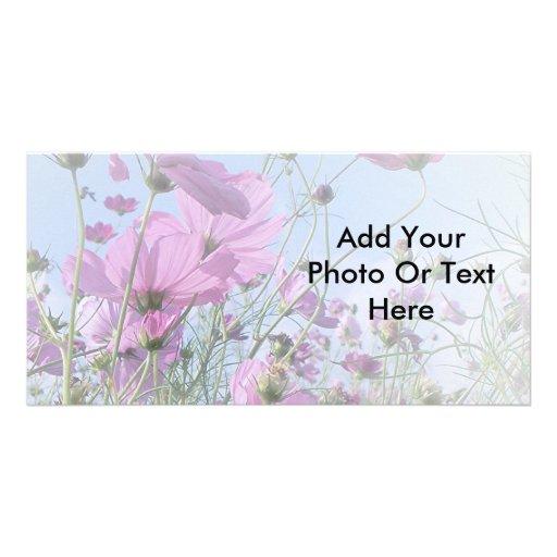 El sueño del Wildflower Tarjeta Personal Con Foto