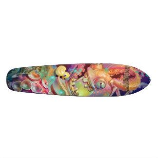 El sueño domina el monopatín Oldschool del pulpo Skate Boards