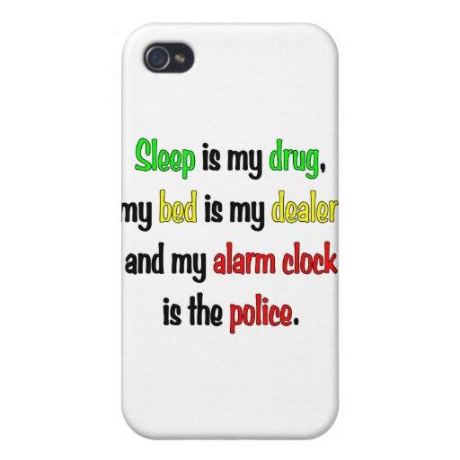El sueño es mi droga iPhone 4/4S carcasas