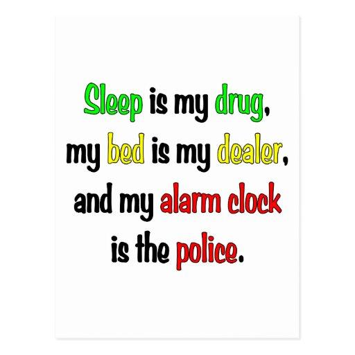 El sueño es mi droga postales