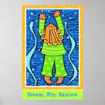 El sueño, mosca, explora impresiones