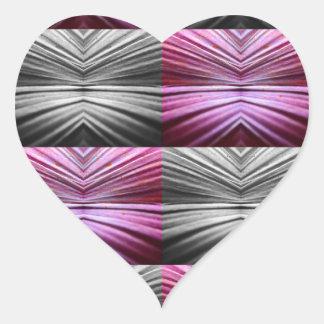 El sueño pegatina de corazon personalizadas