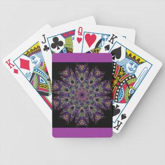 El sueño respira la mandala barajas de cartas