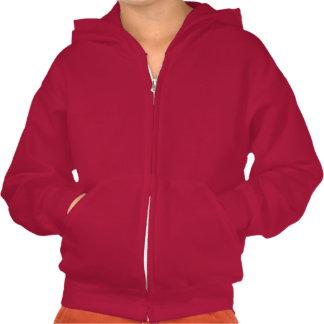 El suéter con capucha de los niños del faro de la sudaderas