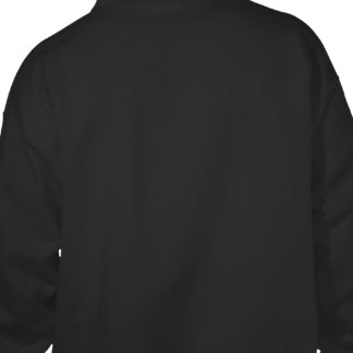 El suéter con capucha negro de los hombres de Roge Sudaderas