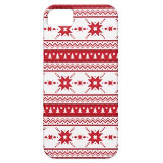 El suéter rojo del navidad inspiró el modelo iPhone 5 carcasa