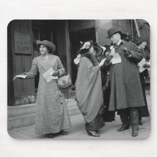 El sufragio Handouts, 1913 de las mujeres Tapete De Raton
