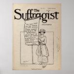 El sufragio RightsJune 2 1917 de las mujeres de la Posters