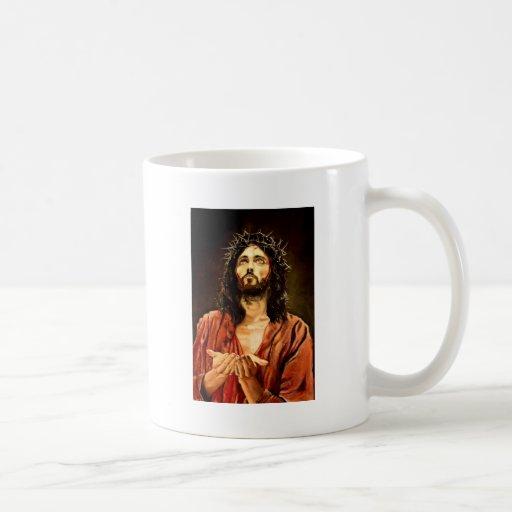 El sufrimiento del Christ.JPG Taza De Café