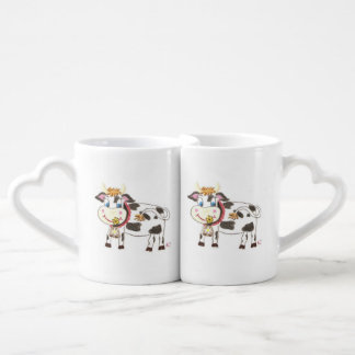 El suizo acobarda las tazas del amante taza para enamorados