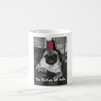 El sultán del sofá taza de café