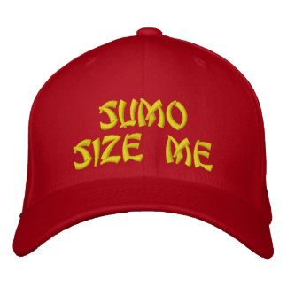El sumo me clasifica bordó el gorra gorra de beisbol bordada