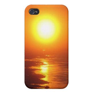 El Sun ártico iPhone 4 Cárcasas