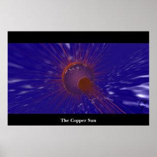 El Sun de cobre Poster