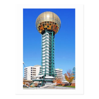 El Sunsphere - el Knoxville, Tennessee, los E.E.U. Postales