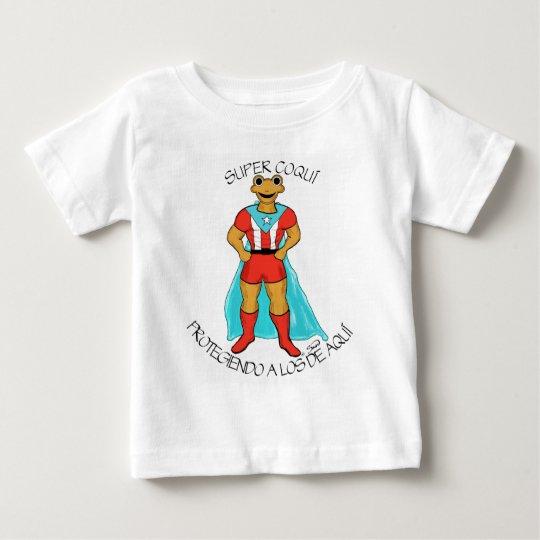 El Super Coquí Baby T-Shirt