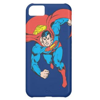 El superhombre corre adelante funda para iPhone 5C