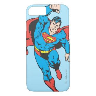 El superhombre dejó el puño aumentado funda iPhone 7