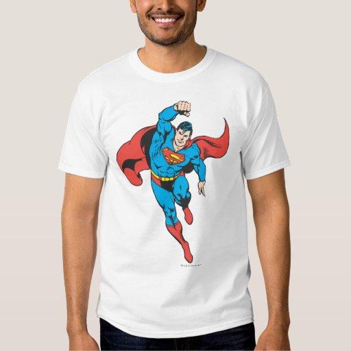 El superhombre dejó el puño aumentado playeras