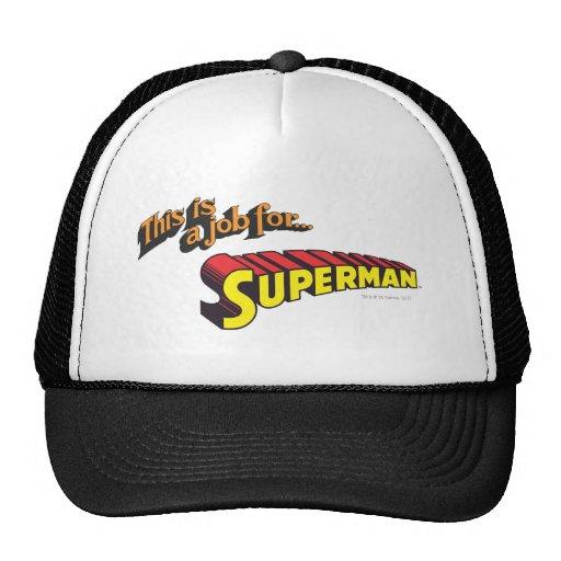 El superhombre el | esto es un trabajo para… gorra