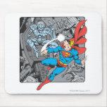 El superhombre lucha Brainiac Tapete De Ratones